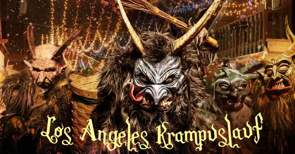 Krampus LA, Los Angeles Krampus Run, Alpine Village, Los Angeles, CA, Immersive Horror