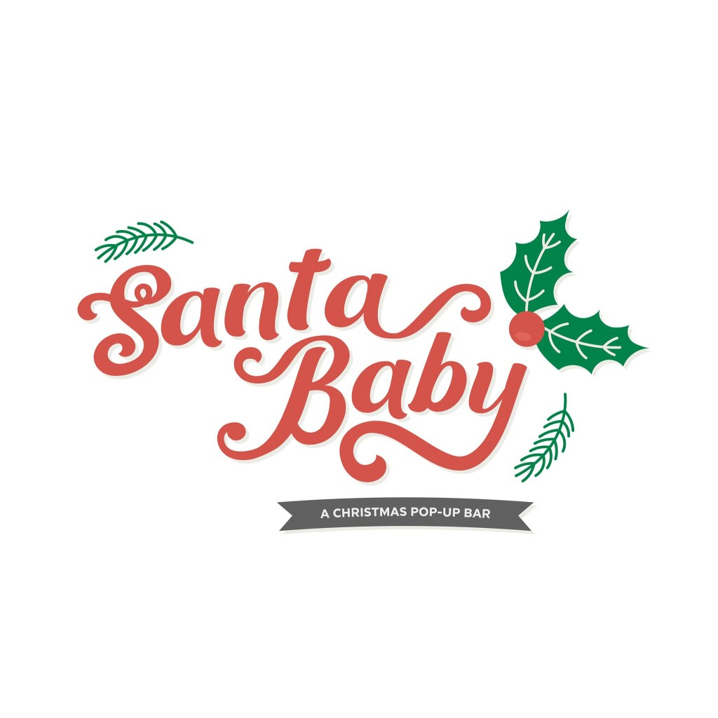 Santa Baby LA, Dinner & Drinks, Pop-Up Bar, Los Angeles, CA
