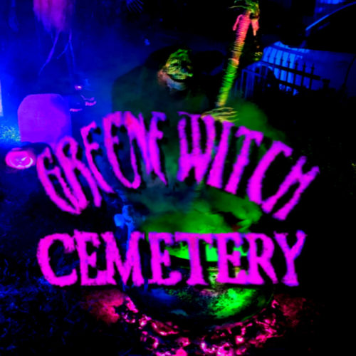 Greenewitch Cemetery Yard Display Haunt Halloween Scary