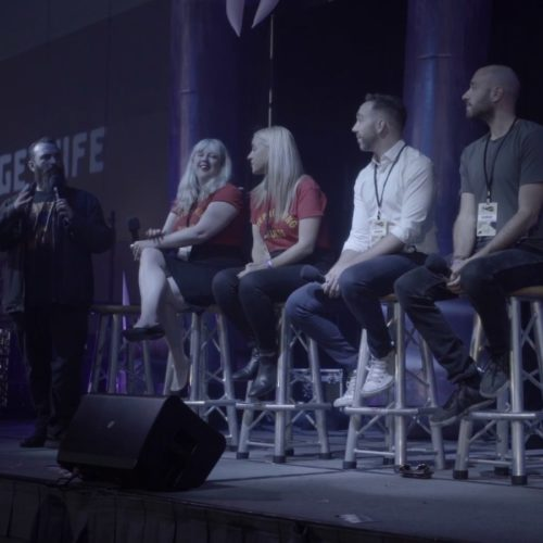 Transitioning from Horror to Haunt Panel, ScareLA, Convention