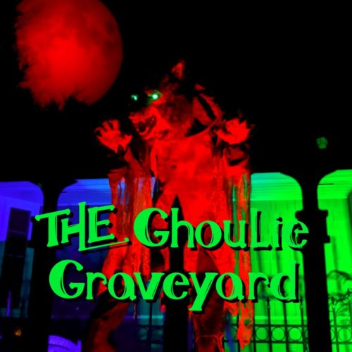 Ghoulie Graveyard Yard Display Halloween Haunt Home