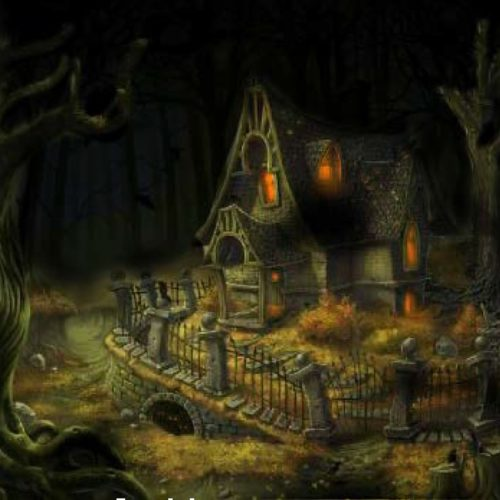 Escape Room LA Curse of the Dark Raven fantasy puzzle Haunting rpg game point and click
